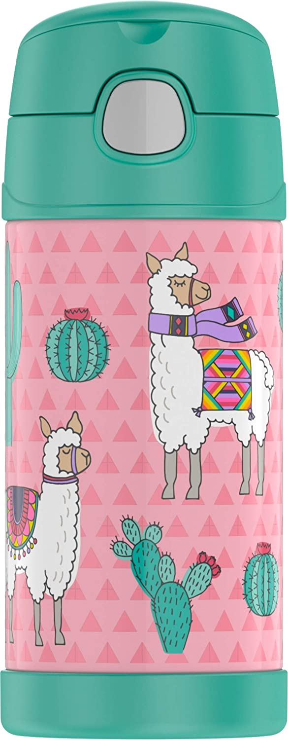 Thermos Desert Llamas 12 OZ BOTTLE, 12 Ounce