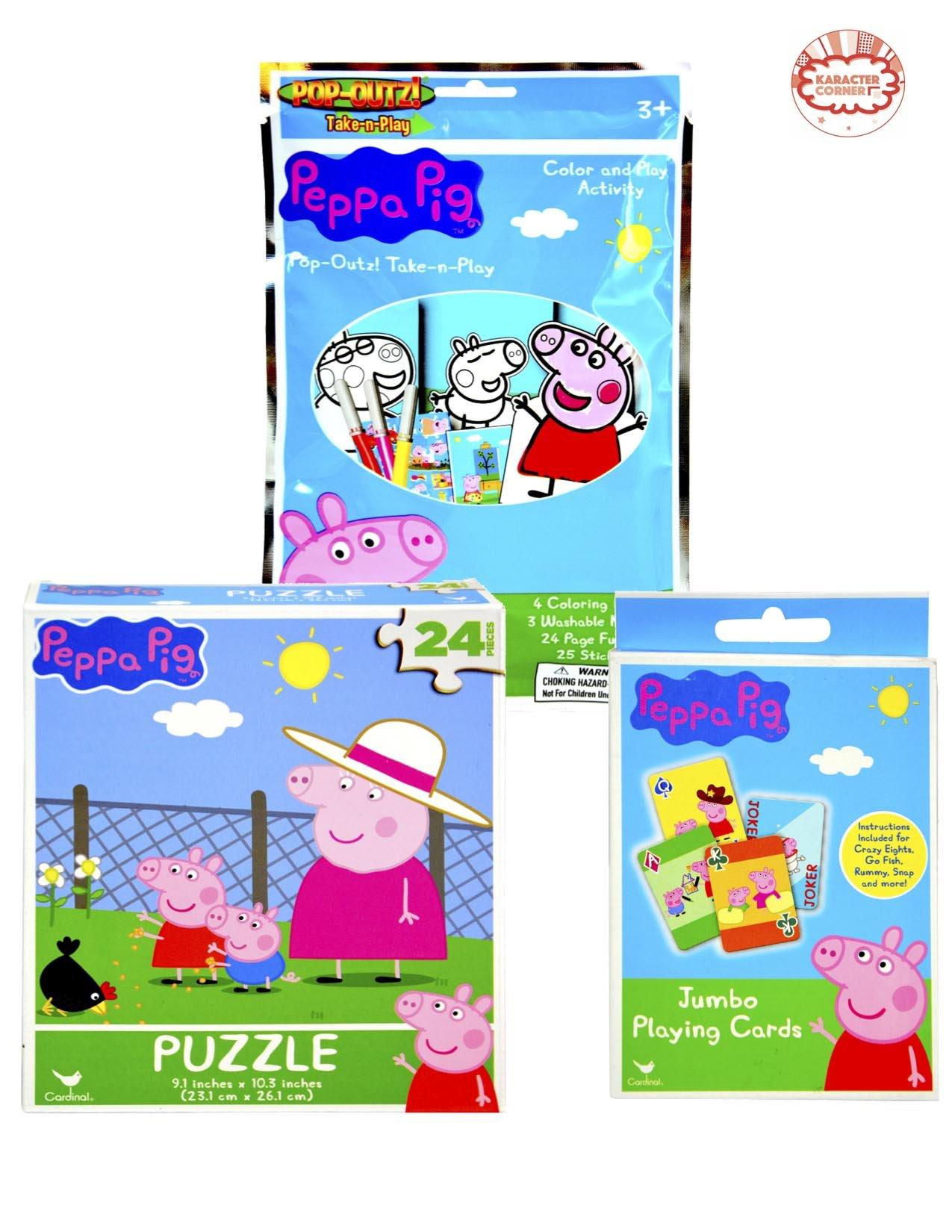 Peppa Pig Play 'n Go Bundle