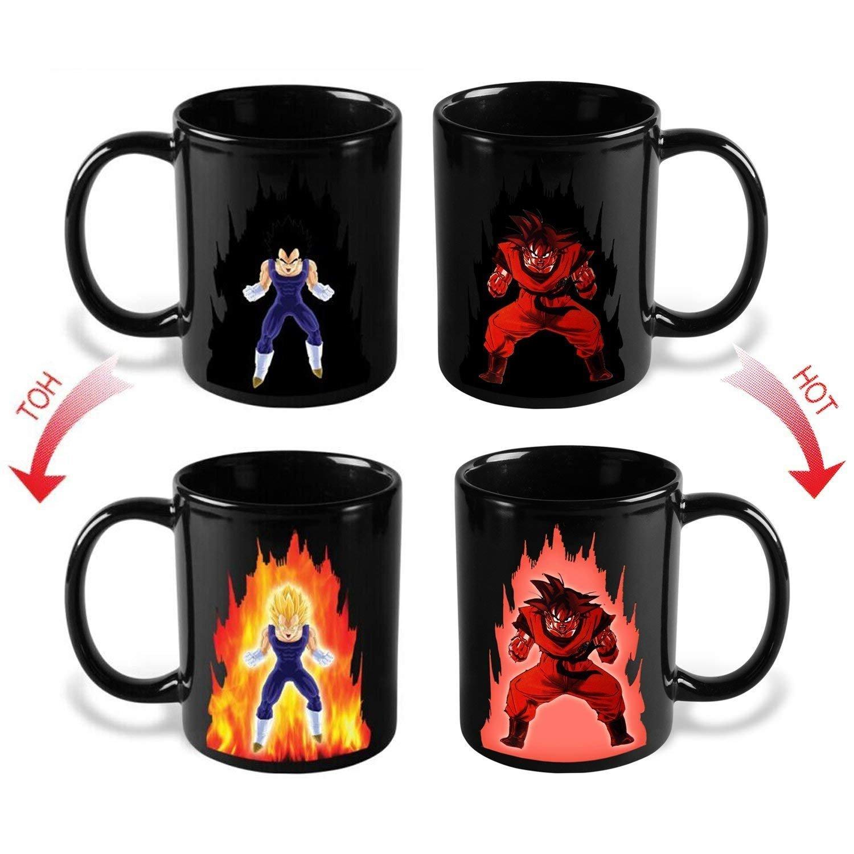 Goku Dragon Ball Z Color Changing Heat Reactive Coffee Mug