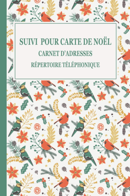 Suivi pour Carte de Noël Card'adresses Répertoire téléphonique