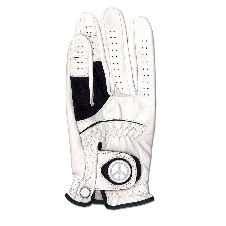 CMC Golf Peace Signレザーゴルフグローブ Medium-Large  B004WO0WTE