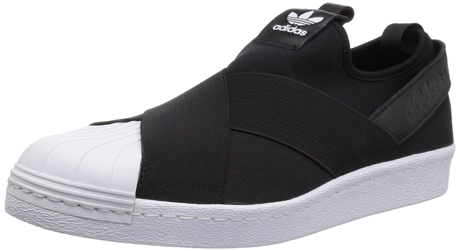 adidas superstar slip on full black