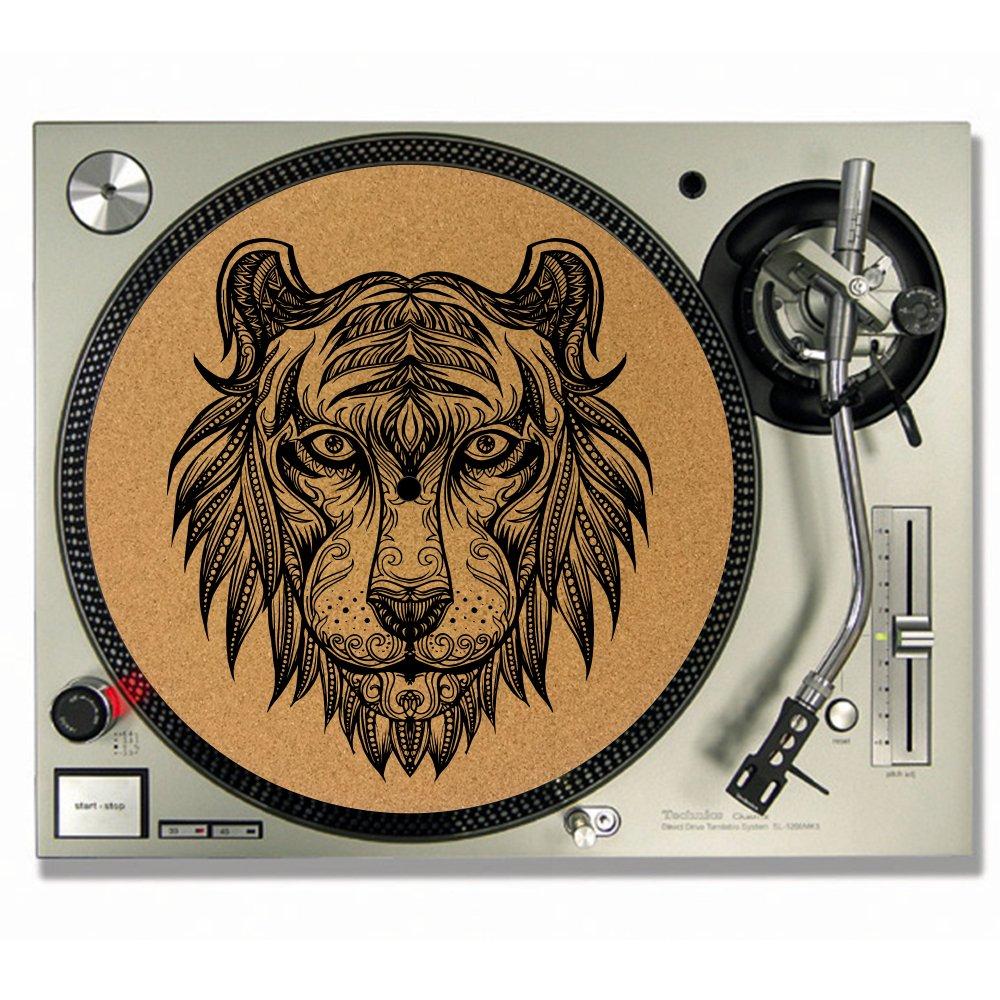 Tiger Mandala CORK DJAT - Alfombrillas de vinilo con diseño de ...