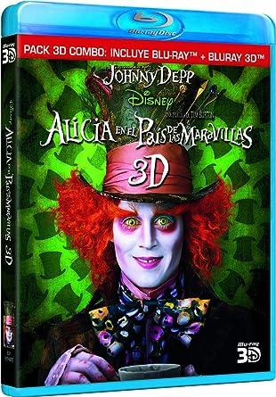 Alicia En El País De Las Maravillas Blu Ray 2d 3d Blu Ray 3d