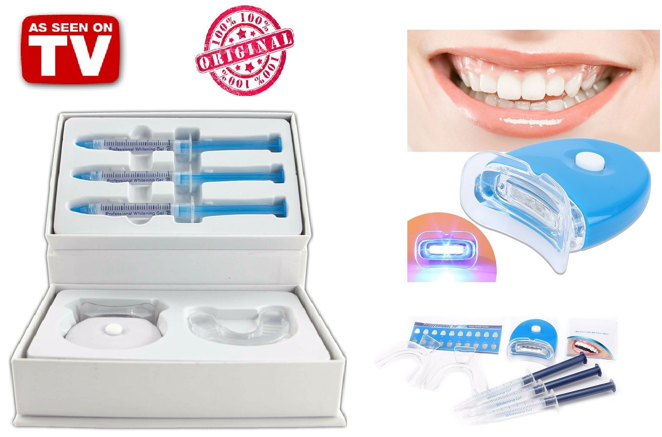 TEETH WHITENING KIT Hi Enjoy your Pearly White hiSmile Bright Smile - Full Kit
