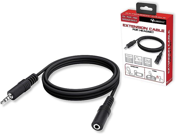 Subsonic - Cable Accesorio De Extensión Mini Jack Para Los ...