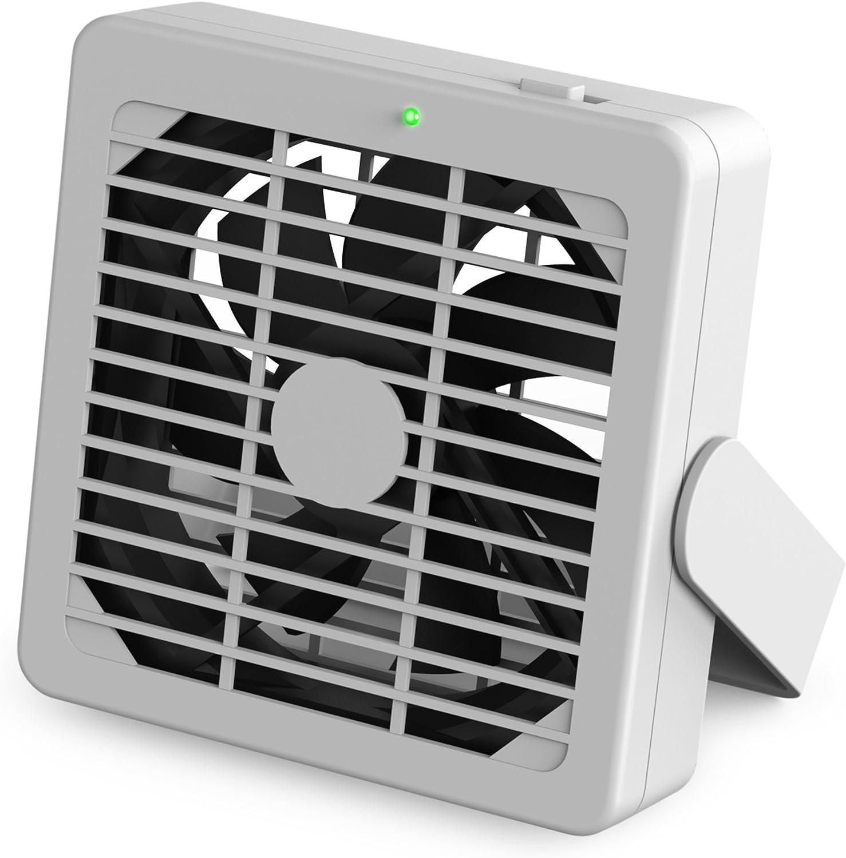Fred 5214202 LITTLE BIG FAN Portable Desktop USB Mini Fan, 6-Inch-by-7-Inch, White