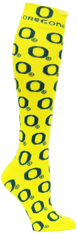 Donegal Bay NCAA Oregon Ducks Dress Socks Yellow//Green
