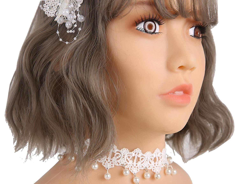 La Máscara De La Belleza De La Simulación Del Silicón, Cabeza Completa De Los Hombres Se Viste Para Arriba Sexy Máscara De Silicona Mujer Cosplay Hombre A ...