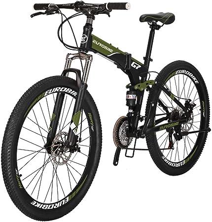 Eurobike Folding Mountain Bicycles 27.5 inch Wheel Bike G7