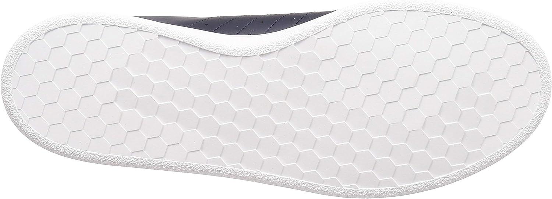 adidas Men's Grand Court Base Tennis Shoe Legend Ink Raw White Core Black