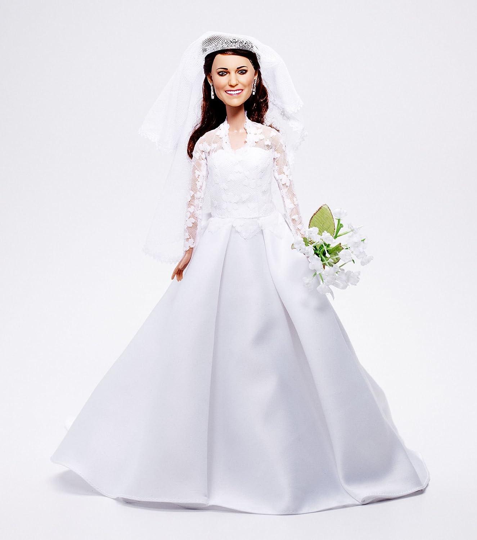 Amazon.com: Princess Catherine Wedding Doll | Kate Middleton Bride ...