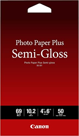 """GP-601 4/""""x 6/"""" 50 SHEETS Canon Glossy Photo Paper NEW SEALED"""