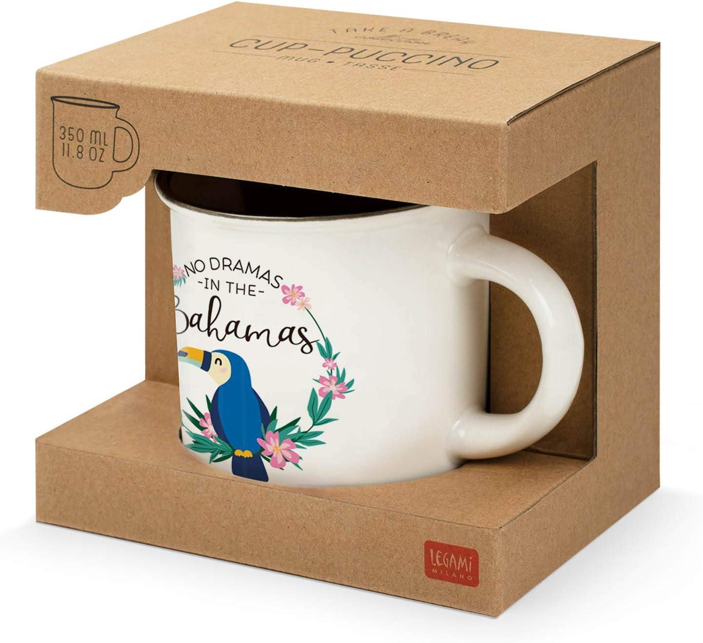 Toucan Knochenporzellan Porzellan Legami CUP0015 Tassen