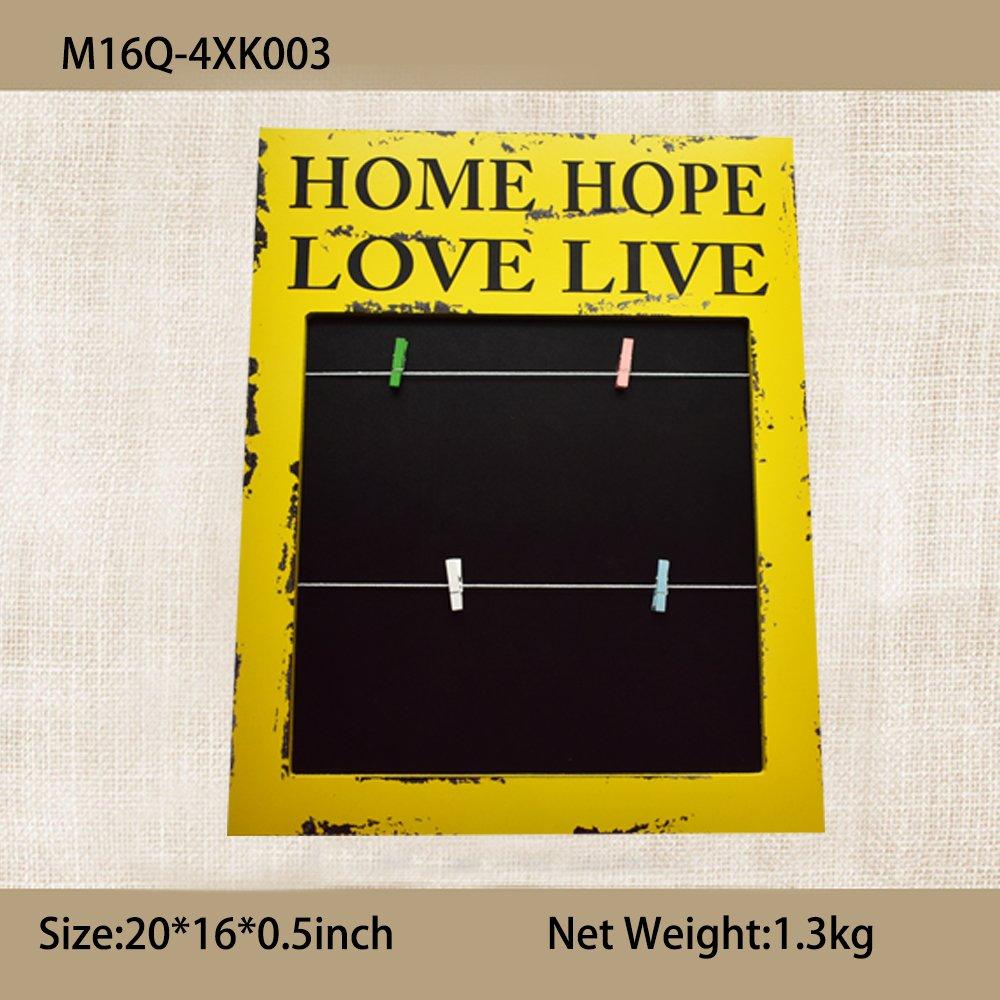 Amazon Com Jiliguala Home Hope Love Live Combination Photo Frames 3