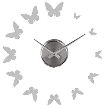 Premier Housewares DIY Metal Butterfly Wall Clock Amazoncouk
