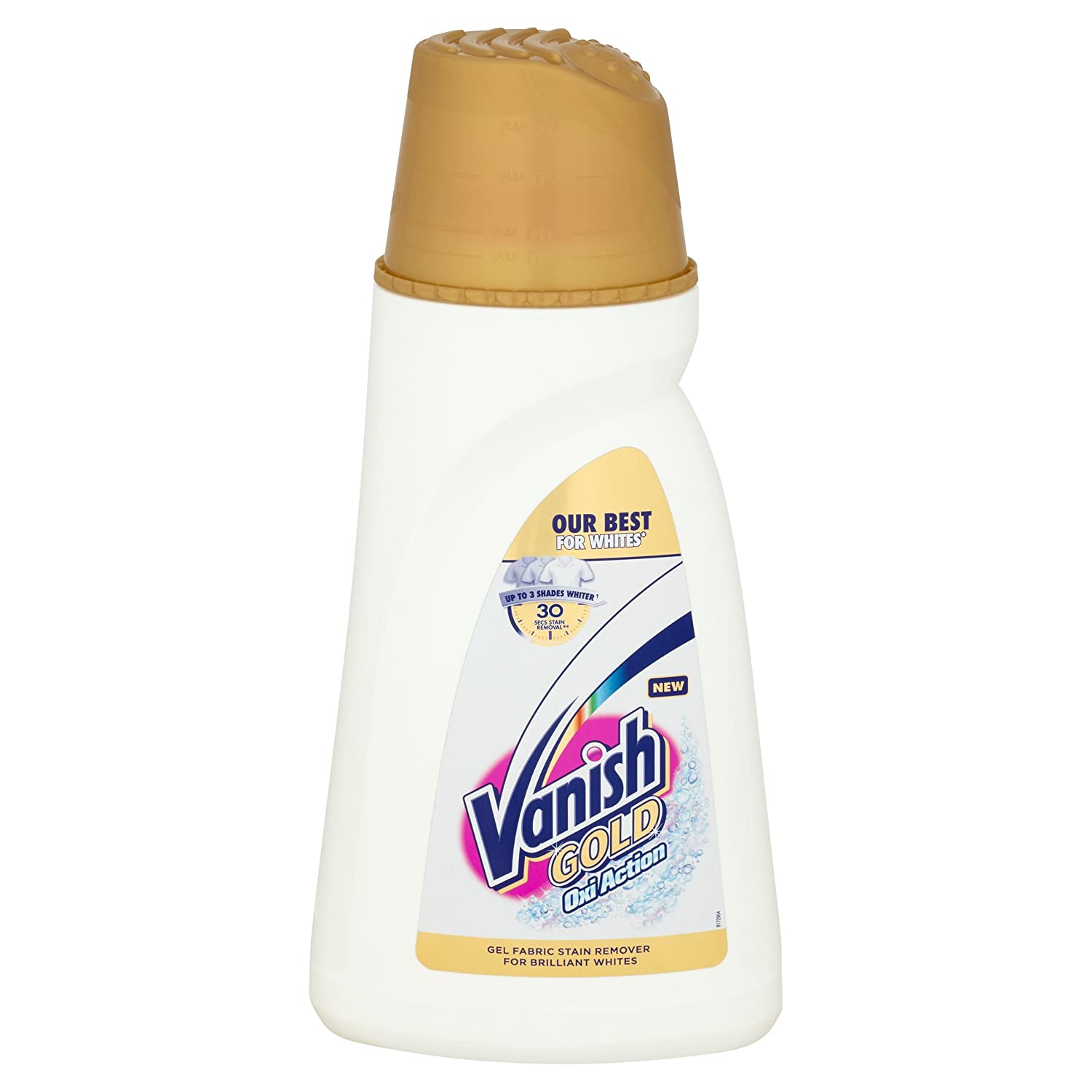 Vanish Fabric Stain Remover Gold Oxi Action Gel Crystal Whites 940