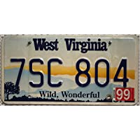 USA Nummernschild WEST VIRGINIA ~ US Kennzeichen License Plate ~ Blechschild