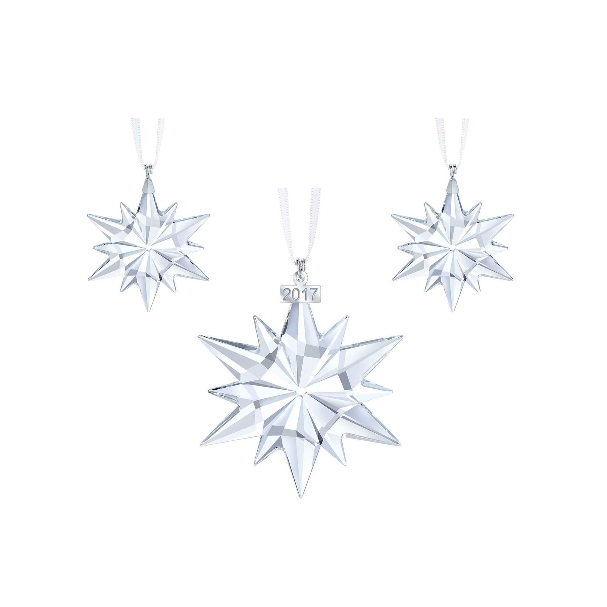 Swarovski Crystal Christmas Set 2017 by Unknown