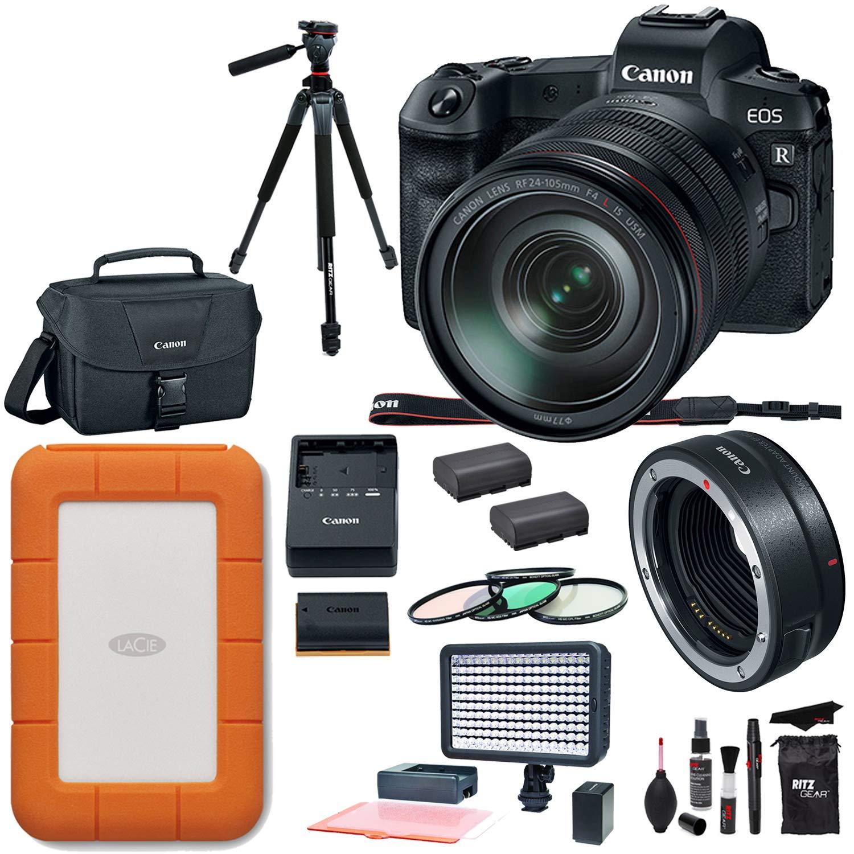 Kit Canon Photo Miroir 24 R Rf Numérique Eos Avec Appareil 105 Sans rthCsQdx