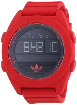 Buy Adidas ADH2909 Black Red Santiago XL Digital Watch Online at Low Prices  in India - Amazon.in 8a823bb1713