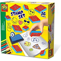 SES Creative Stamp Set-Emoticons Arts and Crafts