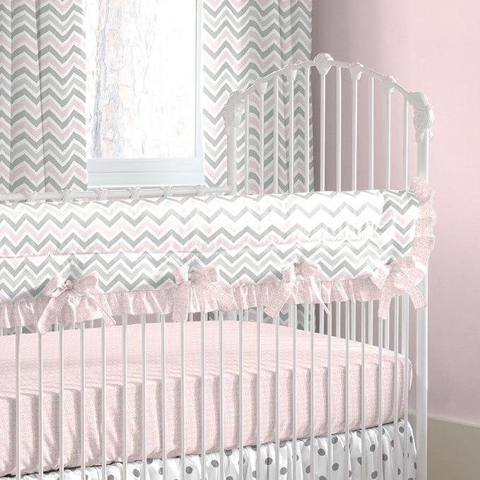 Carousel Designs Shabby Chenille Crib Rail Cover