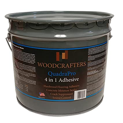 Woodcrafters Quadrapro 4 In 1 Adhesive For Wood Floors 35 Gallon