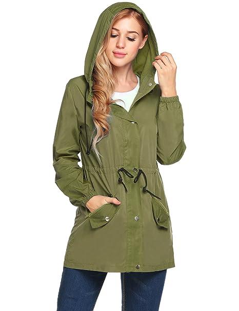 Amazon.com: UNibelle Rain Jacket - Chaqueta impermeable para ...