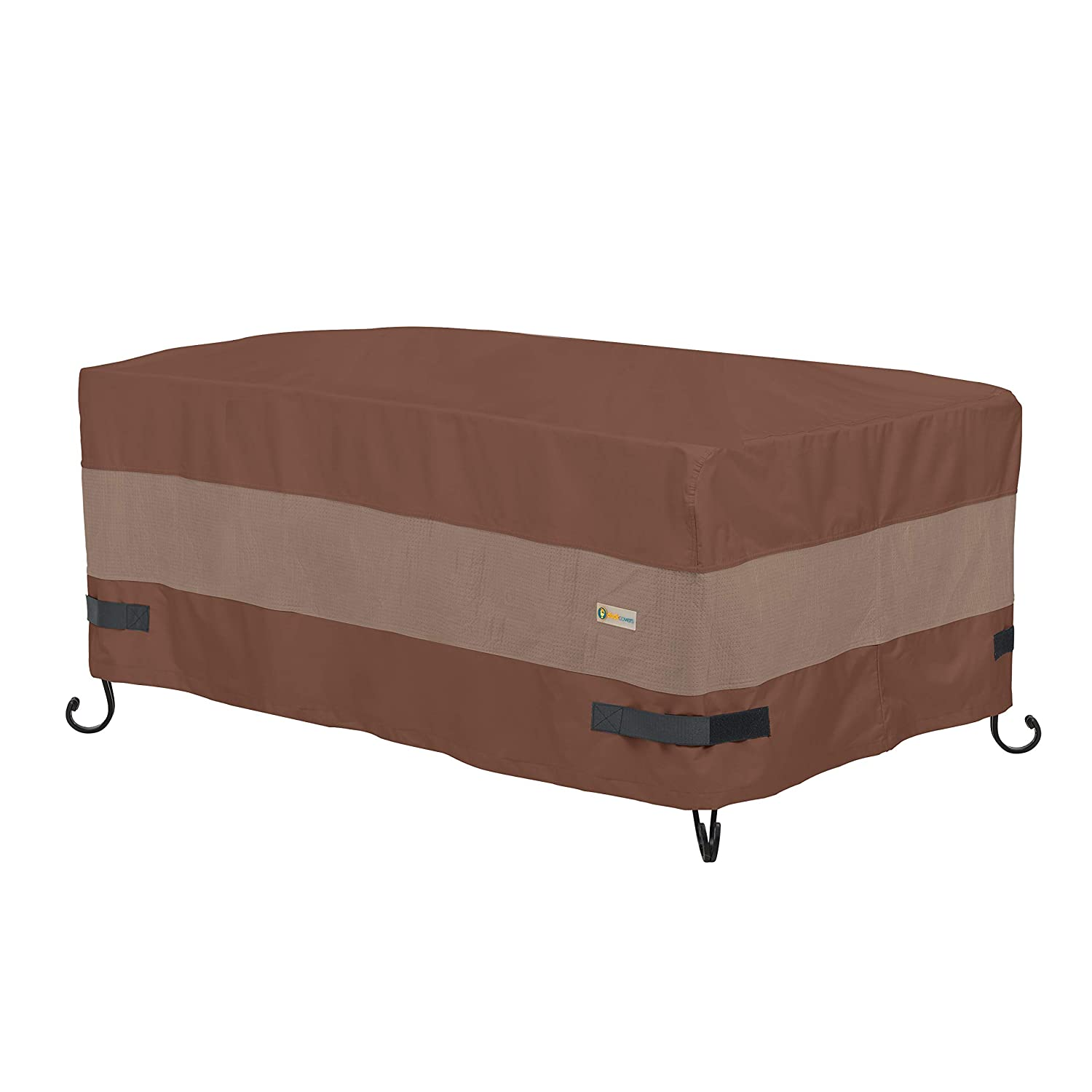 """Duck Covers Ultimate Rectangular Fire Pit Cover, 56"""" L x 38"""" W x 24"""" H"""