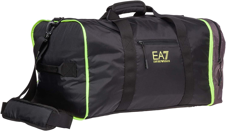 Emporio Armani EA7 bolso de viaje hombre black: Amazon.es