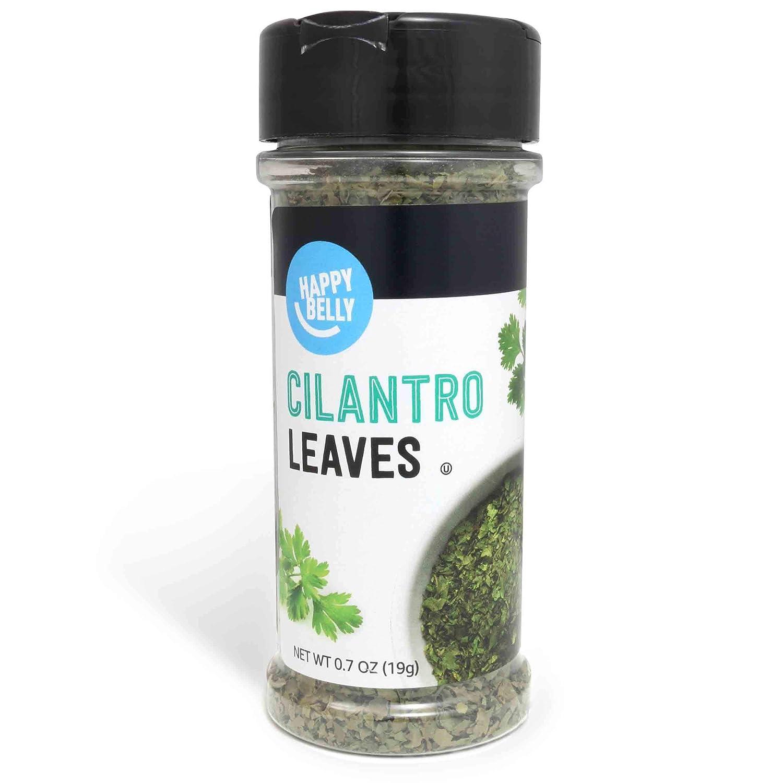 Amazon Brand - Happy Belly Cilantro Leaves, 0.7 Ounces
