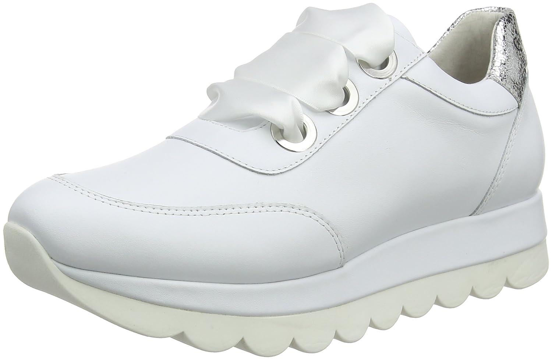CAFèNOIR Kdb131, Zapatillas Altas para Mujer 35 EU|Blanco (Bianco 203)