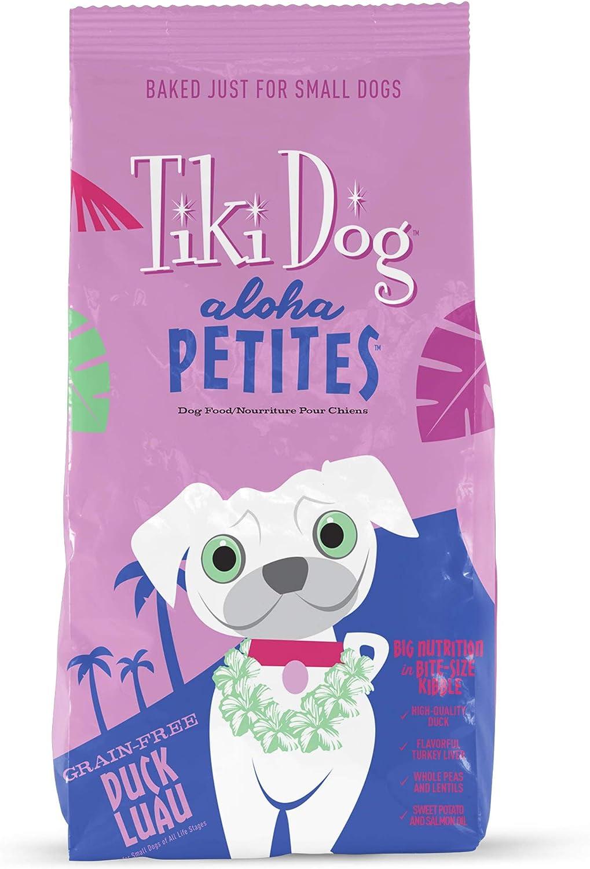 Tiki Dog Aloha Petites Grain-Free Dry Dog Food Baked with Fresh Meat & Superfoods