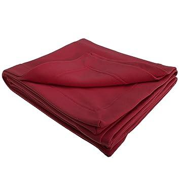 db61340618 Amazon.com  Gildan DryBlend Plain Warm Fleece Blanket Throw (325gsm) (One  Size) (Light Pink)  Home   Kitchen
