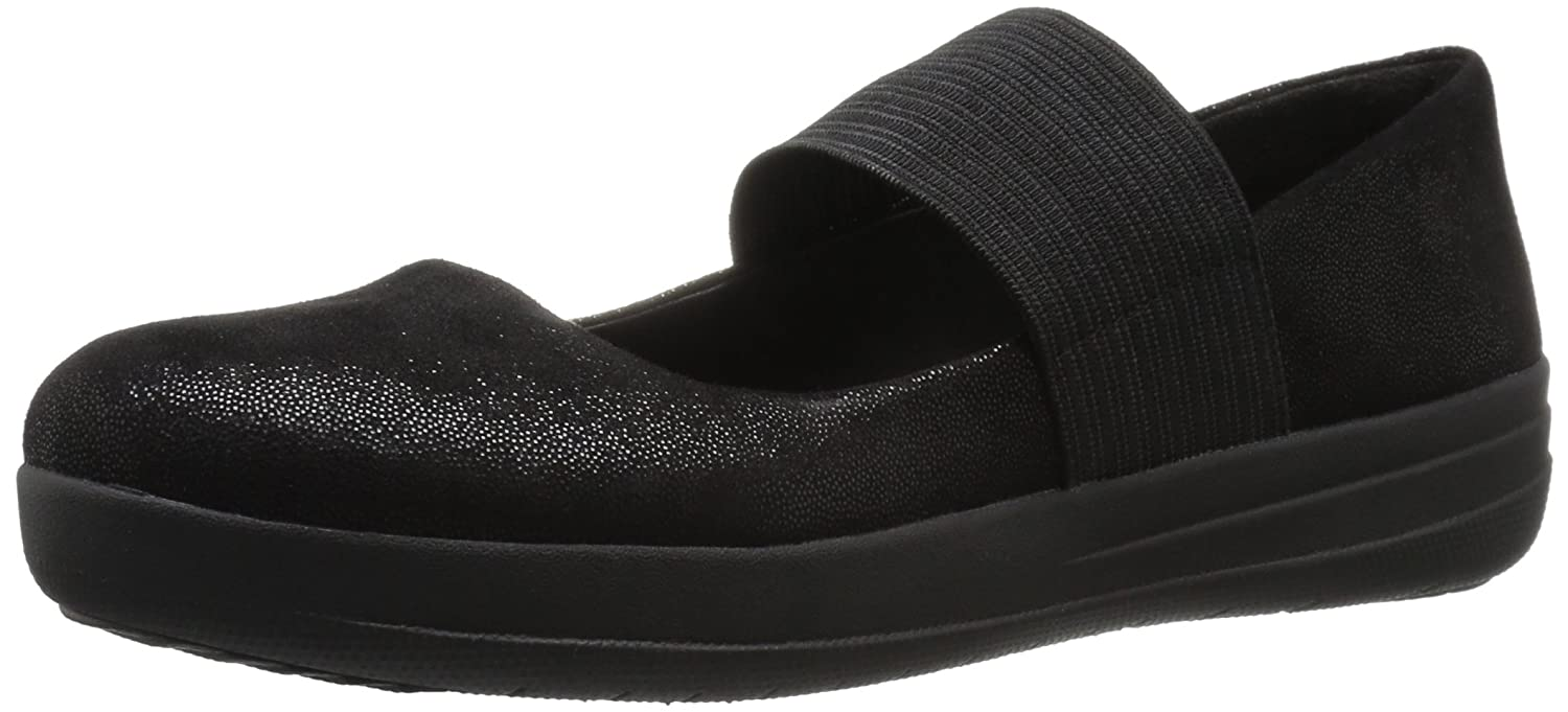 a68c185c4d15 Fitflop Women s F-Sporty Mary Jane Glimmer Black