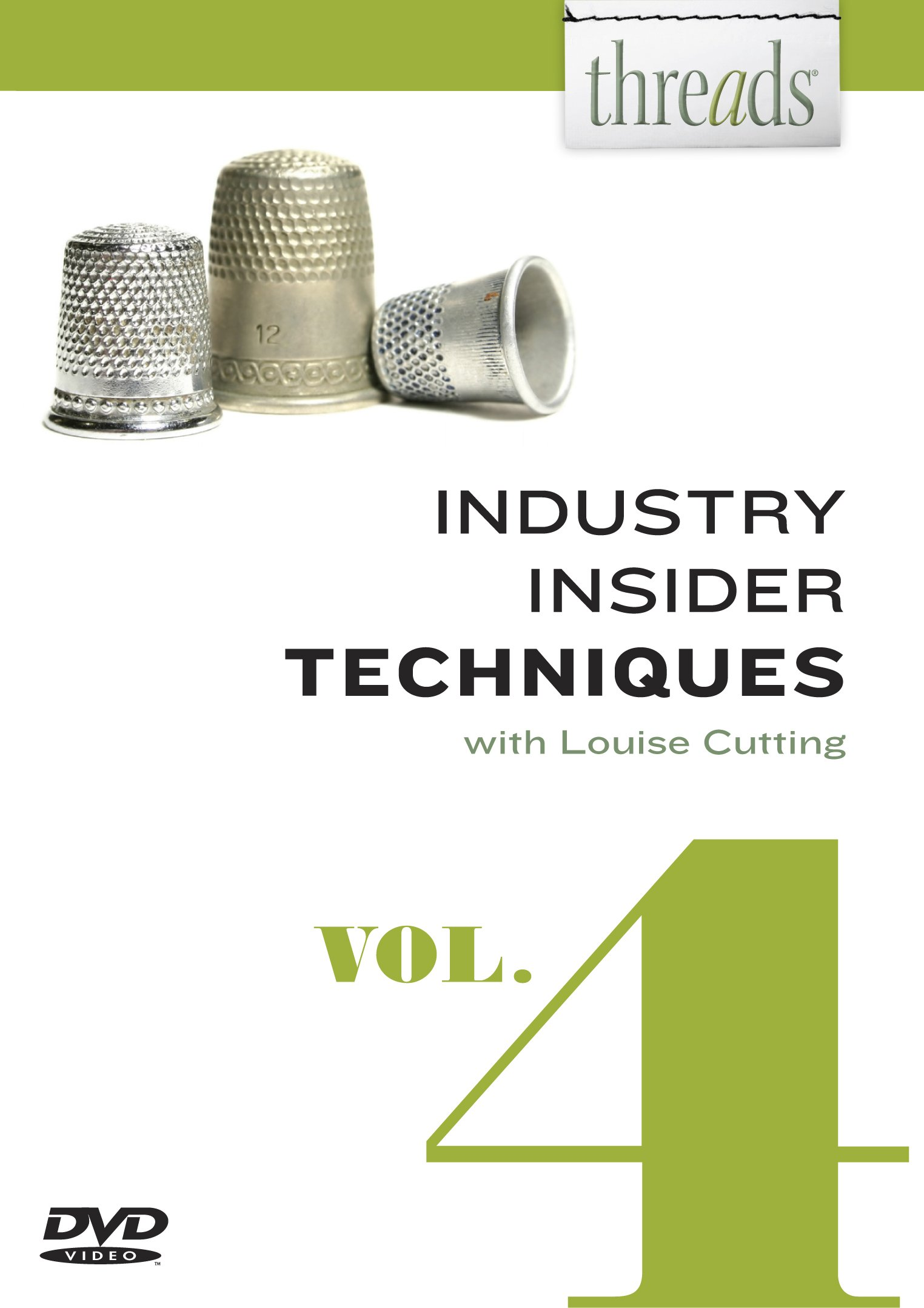 Threads Industry Insider Techniques, Vol. 4: Louise Cutting ...