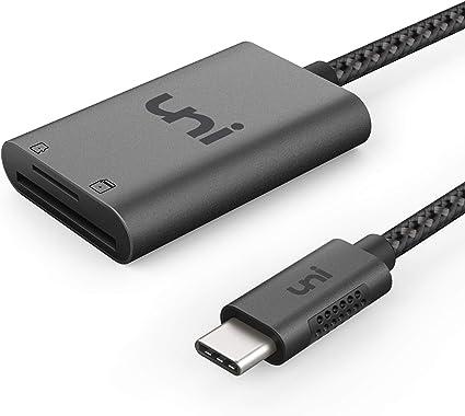 Amazon.com: Adaptador USB C a SD/Micro SD., Gris: Computers ...