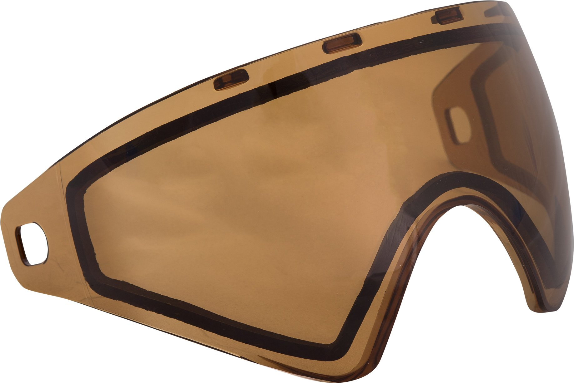 Virtue VIO Replacement Paintball Goggle Lens - Fits Ascend/Contour/Extend and XS Masks - Thermal High Contrast Copper by Virtue Paintball