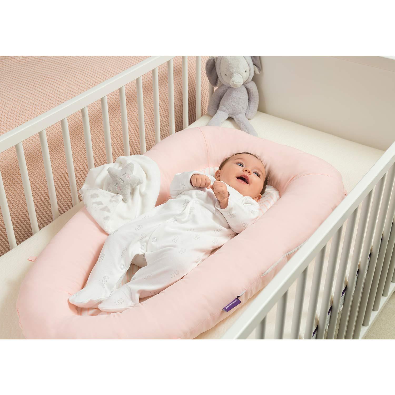Clevamama 3203 Babynest Ersatz /Überzug rosa