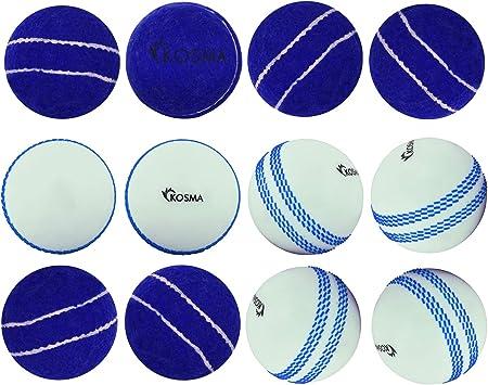 Kosma Juego de pelota de tenis de 12 piezas / pelota de cricket ...