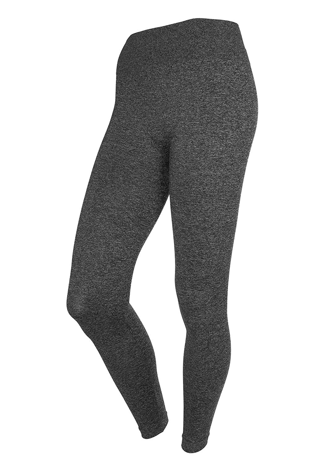 0e783801220314 Malva Womens Black Leggings Seamless Stretchy Spandex Pants with Wide  Waistband available in colors Black Navy Blue Dark Red Grey