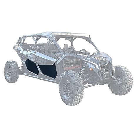 50 Caliber Racing Can-Am X3 Max 4 Lower Door Skins - Fits 4 Seat Models - X3 Max Turbo, X3 Max Turbo R, X3 Max X DS Turbo R, (72