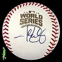 $325 » John Lackey Signed Ball - 2016 World Series Beckett Bas Coa - Beckett Authentication - Autographed Baseballs