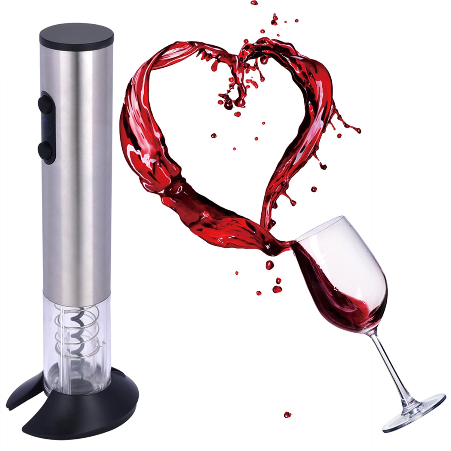 Electric Wine Opener Automatic wine bottle opener with charger and Foil Cutter by zhenxing