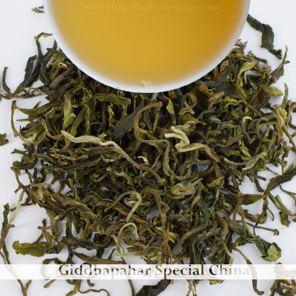 2018 First Flush Darjeeling Tea | A China Cultivar Loose Leaf from Giddhapahar Tea Garden | 500gm (1.1 pound) | Darjeeling Tea Boutique