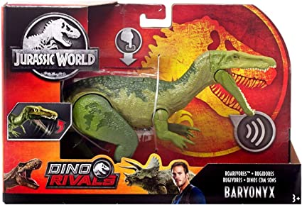 Jurassic World Fallen Kingdom Roarivores Baryonyx Dinosaur Figure Jurassic Park