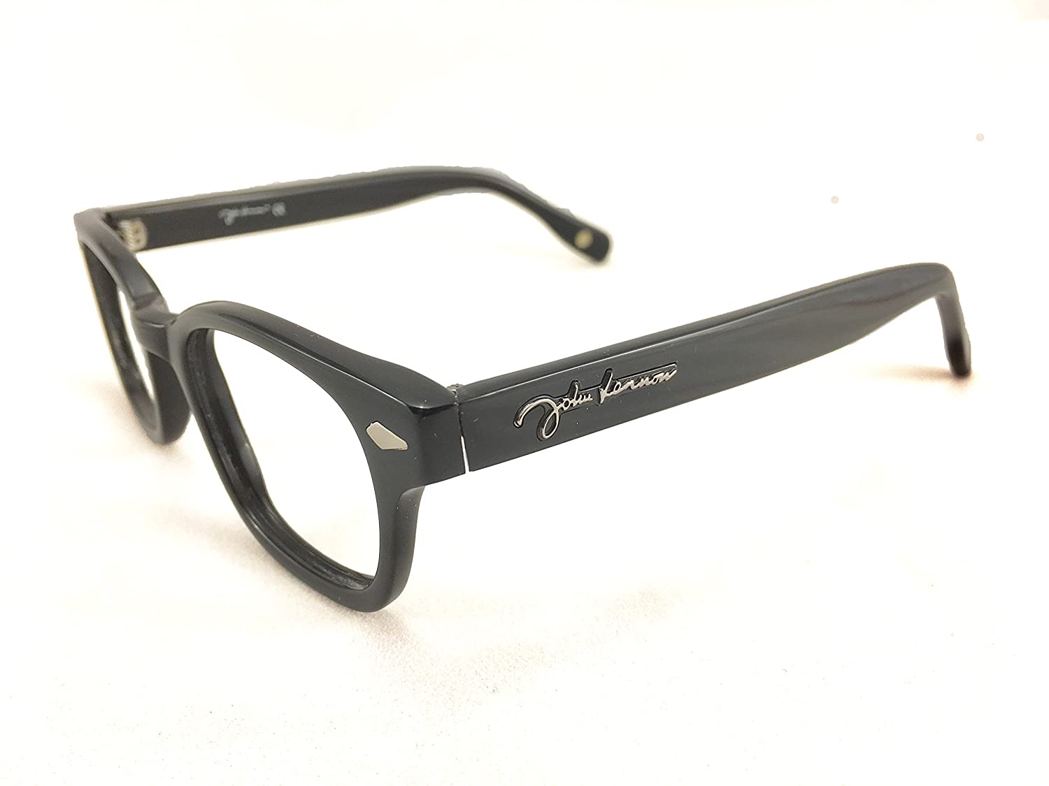 7868ad2b08 Amazon.com  John Lennon JL09 Eyeglass Frame - Black  Clothing