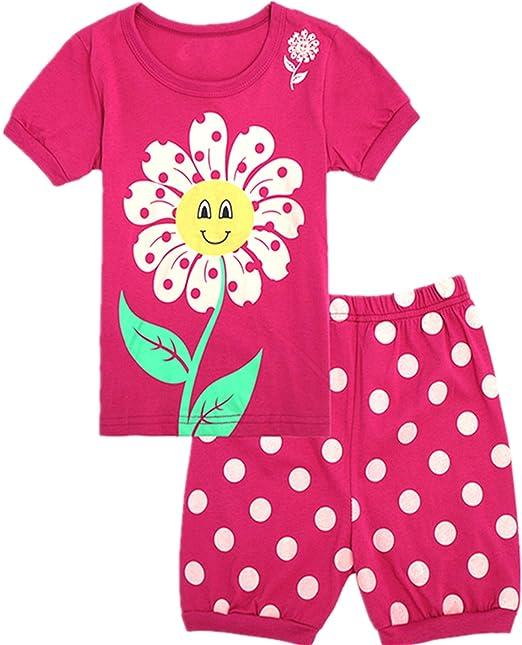 Amazon.com: Tkala - Pijamas de moda para niñas y niños, 100 ...