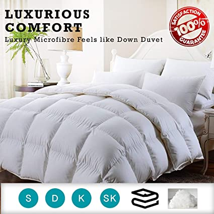 New Summer Soft Luxury Hollowfiber Anti-Allergenic Quilt Hotel Quality Duvet